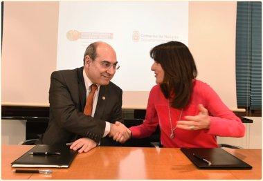 Foto: Osasun arloko lankidetza eta arretako akordioa eguneratu dute Jaurlaritzak eta Nafarroako Gobernuak (IREKIA)