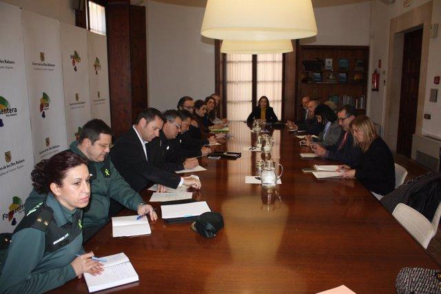 Foto: Delegación del Gobierno trabaja en potenciar la seguridad de Magaluf con más patrullas y operativos