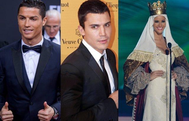 Foto: Las 'NO' novias de Cristiano Ronaldo y Álex González, Desiré Cordero en Miss Universo y los abucheos a Belén Esteban (EUROPA PRESS)