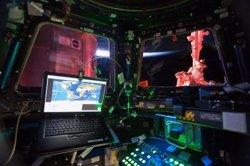 Foto: La oficina con las mejores vistas del mundo está a 400 km de altura (NASA)