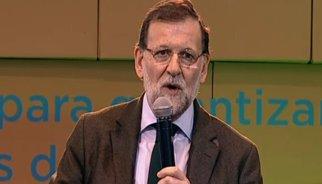 """Rajoy acusa Mas d'actuar a """"la seva conveniència"""" en sotmetre els catalans a una campanya de 9 mesos"""