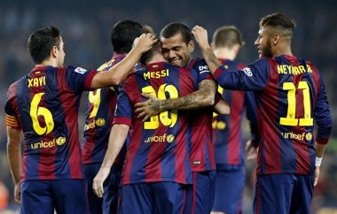 Foto: El Barça sigue al alza (REUTERS)