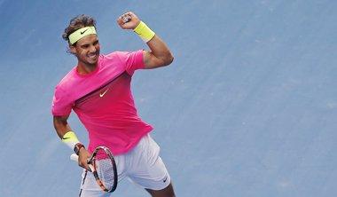 Foto: Nadal se gusta ante Anderson y avanza a cuartos (CARLOS BARRIA / REUTERS)