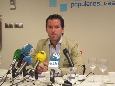 """Foto: Sémper: """"Si Madrid revoca los candidatos elegidos por el PP de Gipuzkoa, me rebelaría"""" (EUROPA PRESS)"""