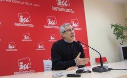 """Foto: Llamazares mantiene su """"mano tendida"""" a Podemos para dialogar sobre la candidatura autonómica (EUROPA PRESS)"""