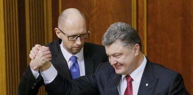 """Foto: Poroshenko defiende """"reducir la tensión"""" como objetivo prioritario (GLEB GARANICH / REUTERS)"""