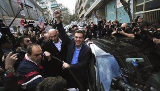 Grècia.- SYRIZA guanya amb entre el 35,5 i el 39,5 % dels vots, segons sondejos a peu d'urna