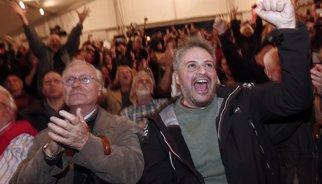 """SYRIZA anuncia un """"gobierno social de salvación"""" tras una """"victoria histórica"""""""