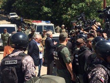 Foto: Los expresidentes Pastrana y Piñera no pueden visitar a Leopoldo López en la cárcel (COLPRENSA)
