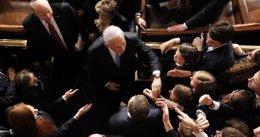 """Foto: Netanyahu dice tener """"la obligación moral"""" de hablar en EEUU sobre Irán (JASON REED / REUTERS)"""