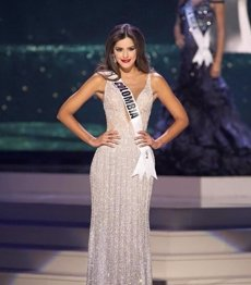 Foto: La colombiana Paulina Vega, Miss Univers 2014 (COLPRENSA)