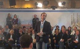 """Foto: Bauzá dice que las """"aspiraciones lógicas"""" del PP son """"gobernar en mayoría"""" en Baleares (PP)"""