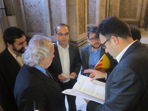 A.F.Teixidó. C.Iglesias, J.Turull, P.Aragonès y L.Salvadó.