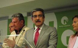 """Foto: Rodríguez (NC) asegura que el """"efecto Grecia"""" llegará a Canarias en mayo (EUROPA PRESS)"""