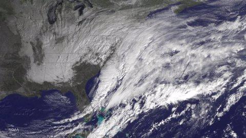 Tormenta de nieve en la costa este de EEUU