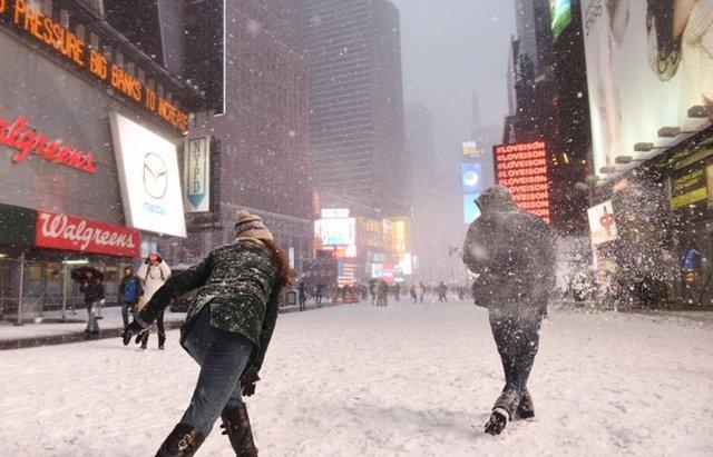 Foto: ¿Quieres ver las fotos de la nevada histórica que sufre Nueva York? (CORDON PRESS)