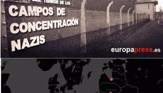 Mapa de l'Holocaust: El terror nazi a Auschwitz, Birkenau, Treblinka i la resta de camps de concentració