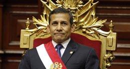"""Foto: Humala destaca el """"ejemplo claro de madurez"""" de Chile y Perú en el aniversario del fallo de La Haya (REUTERS)"""