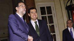 """Foto: Rajoy acusa a Díaz de """"utilizar"""" Andalucía como """"trampolín para otros fines alejados del interés"""" de la gente (EUROPA PRESS)"""