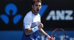 Foto: Wawrinka no da opciones a Nishikori y se mete en semifinales (HANNAH PETERS)