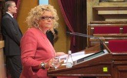 Foto: La exconsellera Marina Geli formaliza su baja del PSC (Europa Press)
