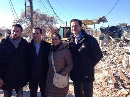 Foto: Eliminado el poblado chabolista de El Ventorro (@SALVAVICTORIA)