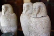 Piezas arqueológicas incautadas en la Operación Hierática