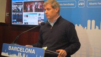 """Alberto Fernández demana a l'Ajuntament rebutjar els Pressupostos de Mas per """"maltractar"""" Barcelona"""