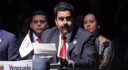 """Foto: Maduro afirma que la región latinoamericana avanza hacia una """"etapa histórica"""" tras las disputas pasadas (REUTERS)"""