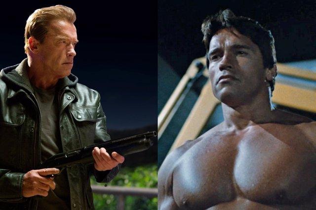 Foto: Así será la lucha entre dos Schwarzenegger de Terminator: Génesis