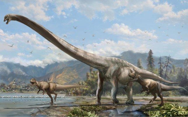 Descubren en China un dinosaurio dragón