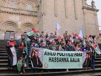 Concentración en apoyo al activista saharaui Hassana Aalia