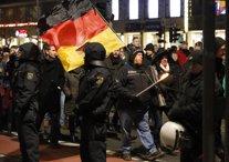 Manifestación PEGIDA  Alemania en Dresde