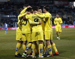 Foto: El Villarreal no falla y se cita con el Barcelona (REUTERS)
