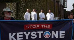 Foto: Senado de EEUU aprueba un proyecto de ley sobre el oleoducto Keystone, que ahora afronta el veto de Obama (GETTY)