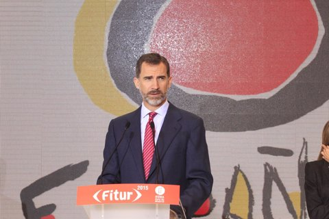 El Rey Felipe VI inaugura Fitur