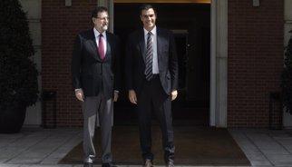 Rajoy i Sánchez parlen de l'acord contra el terrorisme jihadista i continuaran conversant en les pròximes hores
