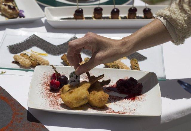 Foto: Corderex, uno de los sellos de calidad que representará a la gastronomía extremeña en Madrid Fusión 2015