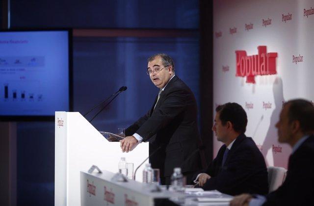 Foto: Ron (Popular) censura comportamientos como los de la cúpula de Caja Madrid