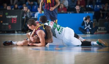 Foto: El Barça sigue intratable en el Palau (EUROLEAGUE)