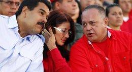 """Foto: Maduro vuelve a defender a Cabello ante la """"campaña de descrédito"""" orquestada por """"la derecha internacional"""" (REUTERS)"""