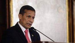 """Foto: Humala se reúne con alcaldes provinciales de todo el país y reclama una gestión """"más transparente"""" (JOSHUA LOTT / REUTERS)"""