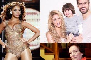 Foto: El hijo de Shakira y Piqué, la muerte de Amparo Baró y el horror de Beyoncé ante '50 sombras de Grey' (GETTY//EUROPA PRESS)