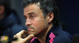 """Foto: Luis Enrique: """"Ofende más un caño que reventarte en cuatro o cinco entradas"""" (REUTERS)"""