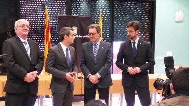 Foto: Artur Mas anteposa la lluita contra l'atur a la independència (GENERALITAT)