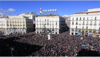 Podem estima que més de 300.000 persones s'han unit a la 'Marxa del Canvi'