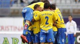 Foto: Las Palmas gana en el último suspiro y el Numancia frena al Betis (UD LAS PALMAS)