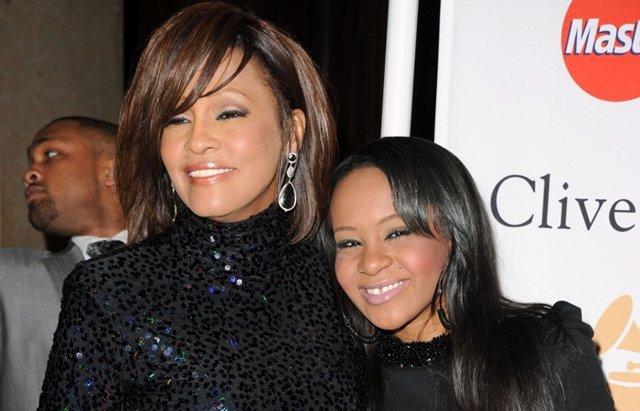 Foto: Encontrada inconsciente en la bañera la hija de Whitney Houston (GETTY)