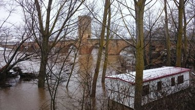 Foto: Desactivado el nivel 1 del Inuncyl en Burgos (EUROPA PRESS)