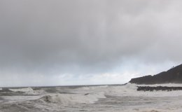 Foto: Registradas precipitaciones de 77 l/m2 en Berastegi y vientos de 119 km/h en Punta Galea (EUROPA PRESS)